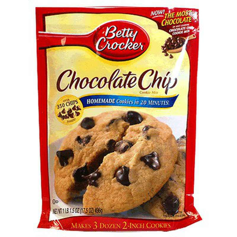Préparation de cookies aux pépites de chocolat, Betty Crocker (496 g)