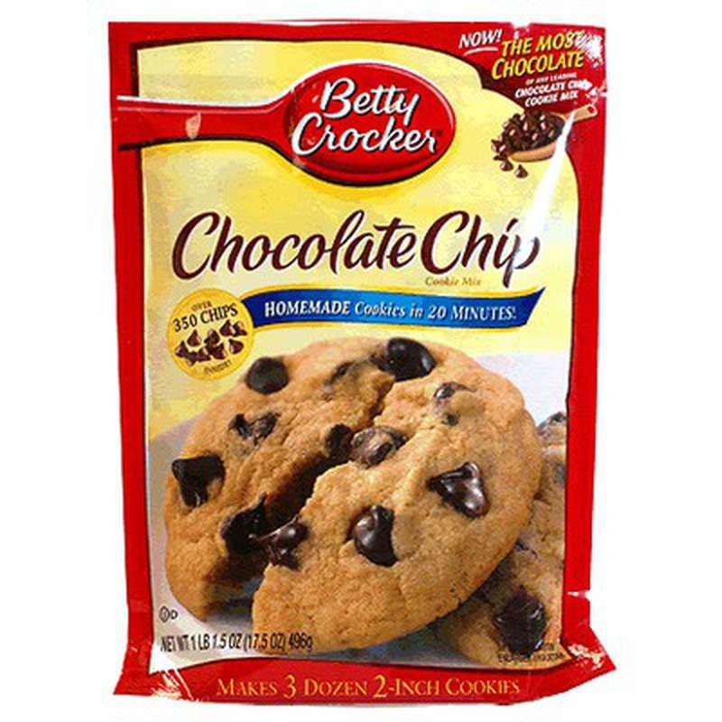 Préparation de cookies aux pépites de chocolat, Betty Crocker (496 g)