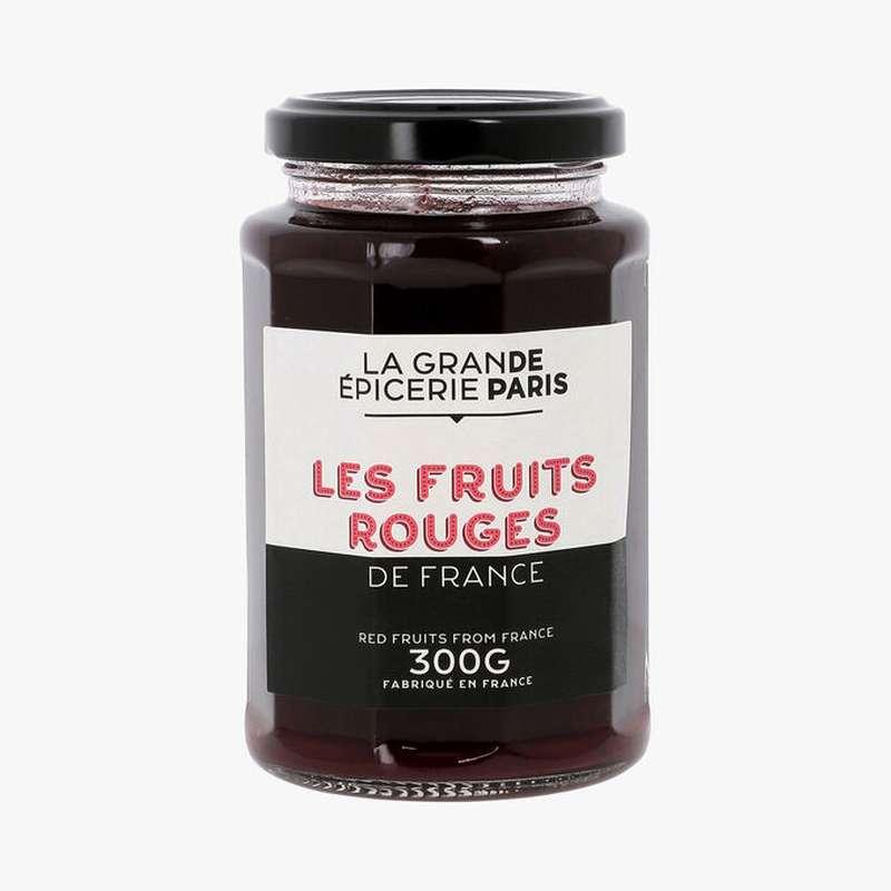 Confiture aux 3 fruits rouges de France, La Grande Epicerie de Paris (300 g)