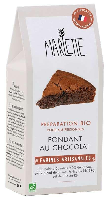 """Préparation """"Fondant au chocolat"""" BIO, Marlette (330 g)"""