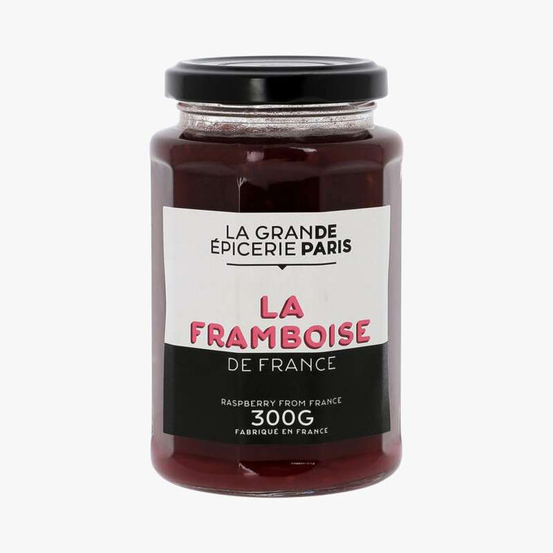 Confiture de framboise de France, La Grande Epicerie de Paris (300 g)