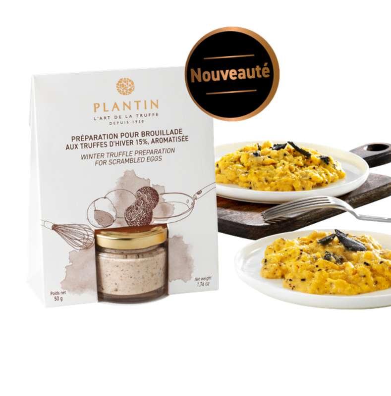 Préparation pour brouillade aux truffes d'hiver, Plantin (50 g)