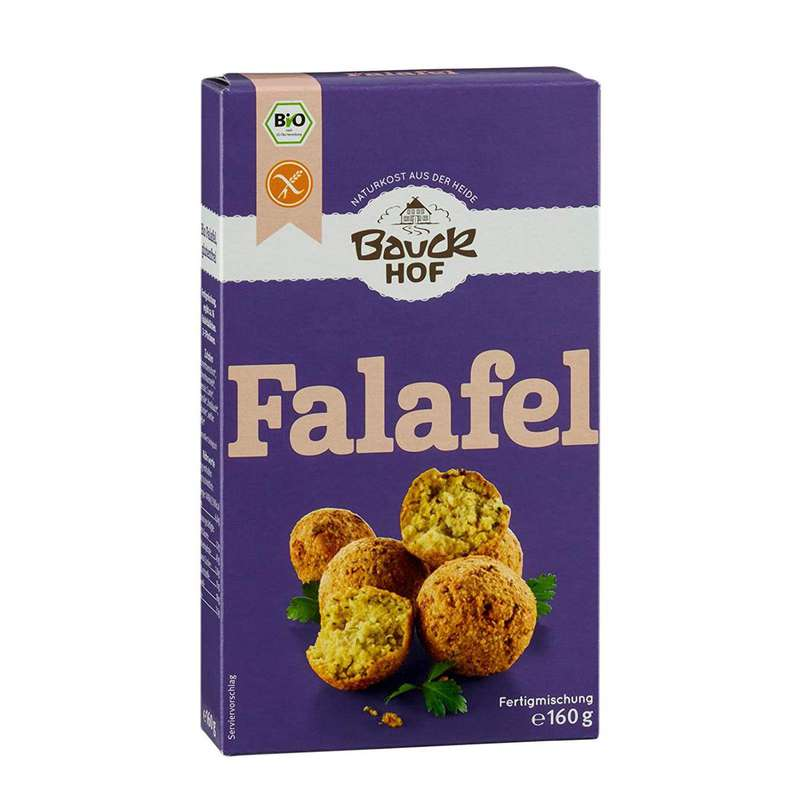 Préparation pour falafels BIO, Bauck Hof (160 g)