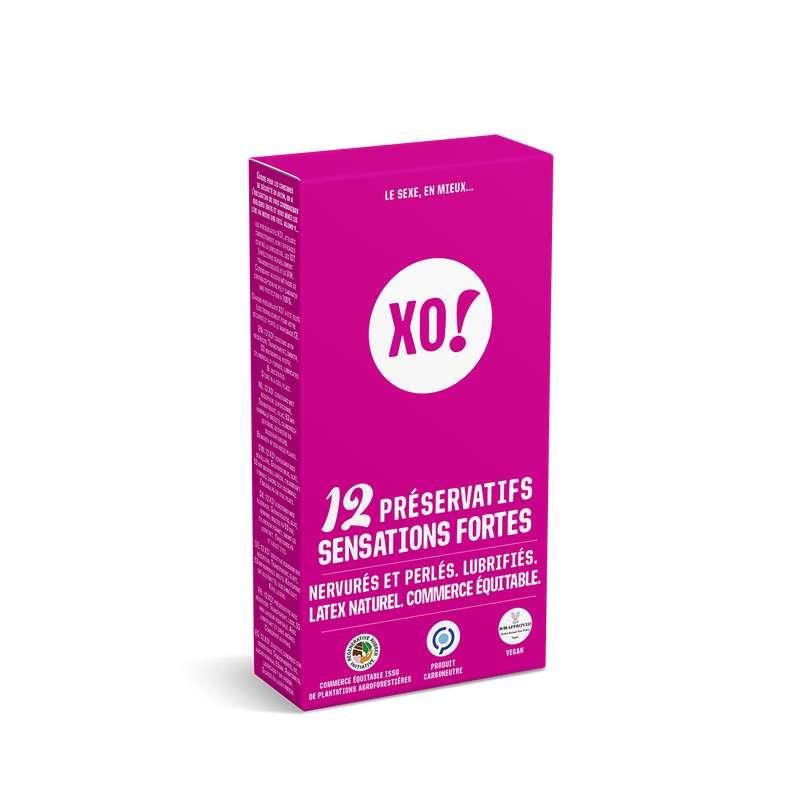 Préservatifs Sensations fortes, XO! (x12)