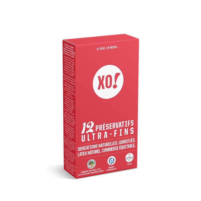Préservatifs Ultra-fins, XO! (x12)