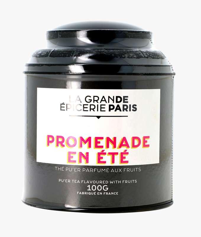 Thé Pu'Er Promenade Un Été aromatisé aux fruits, La Grande Epicerie de Paris (100 g)