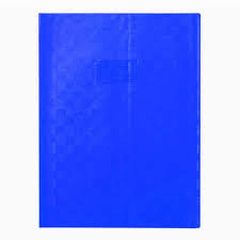 Protège-cahiers petit format épais Bleu (17 x 22 cm)