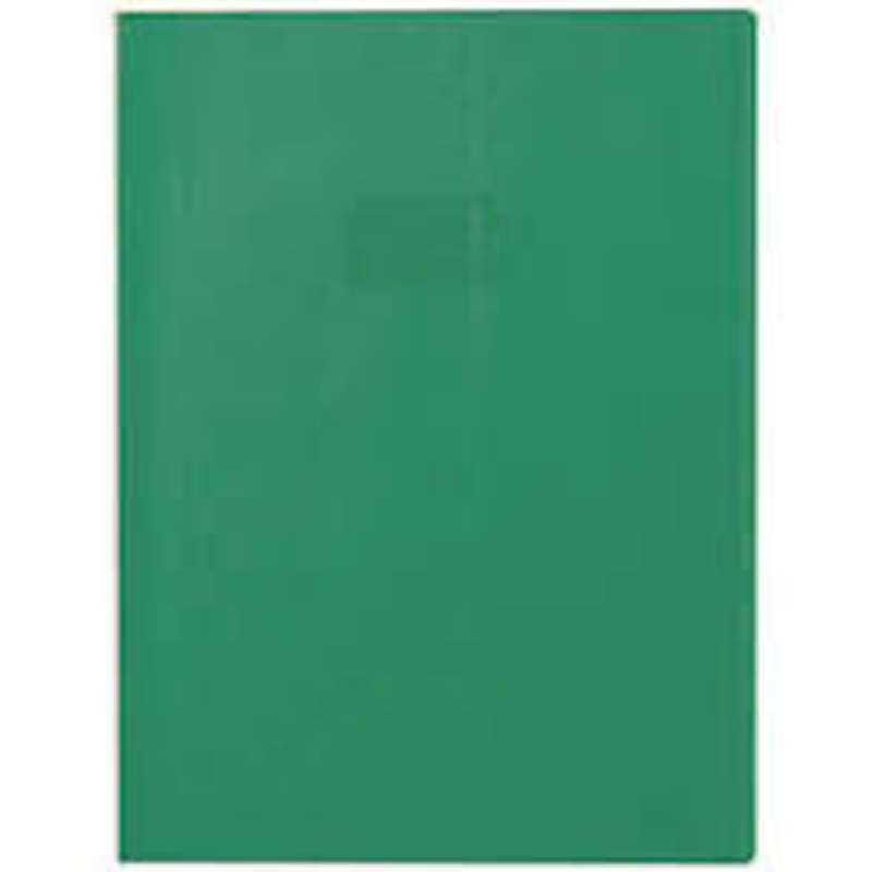 Protège-cahiers petit format épais Vert (17 x 22 cm)