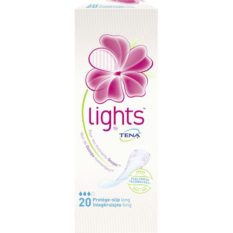 Protège lingerie long light, Tena (x 20)
