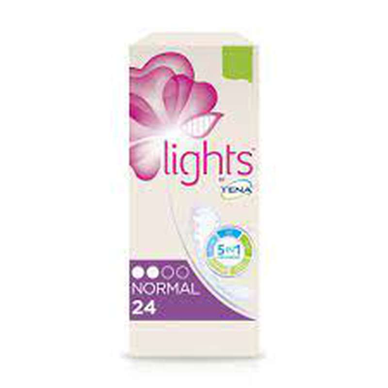 Protège lingerie normal Lights, Tena (x 24)