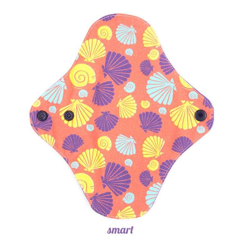 Protège slip smart motif coquillages, Lamazuna (x 1)
