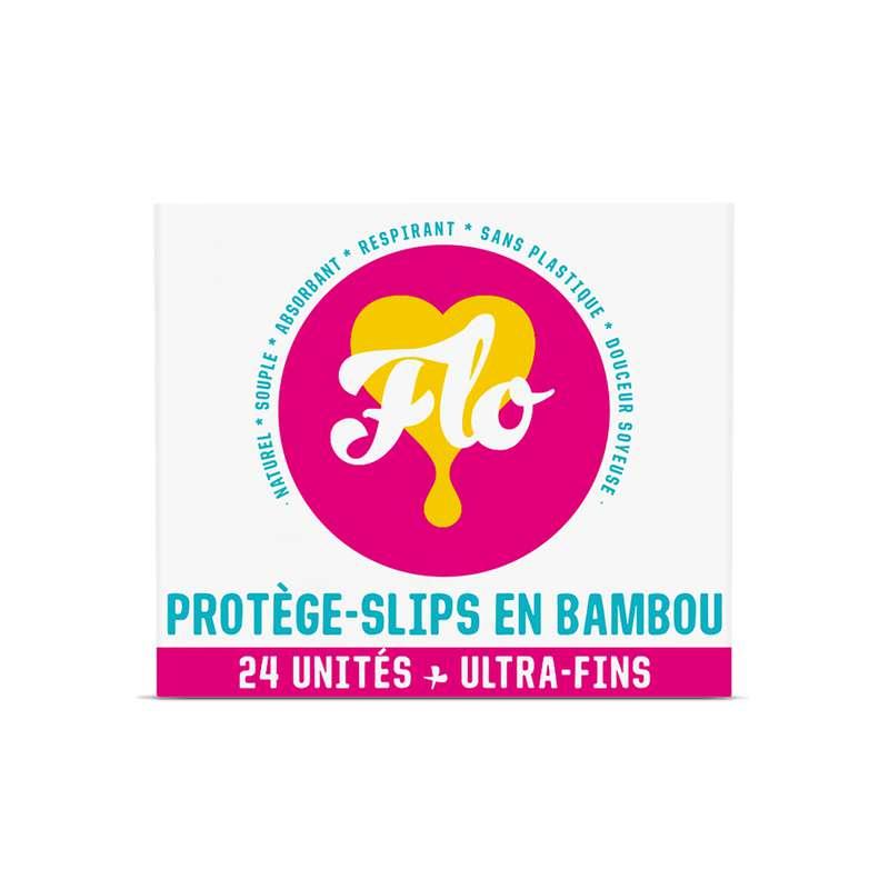Protège-slips en bambou BIO, Flo (x 24)