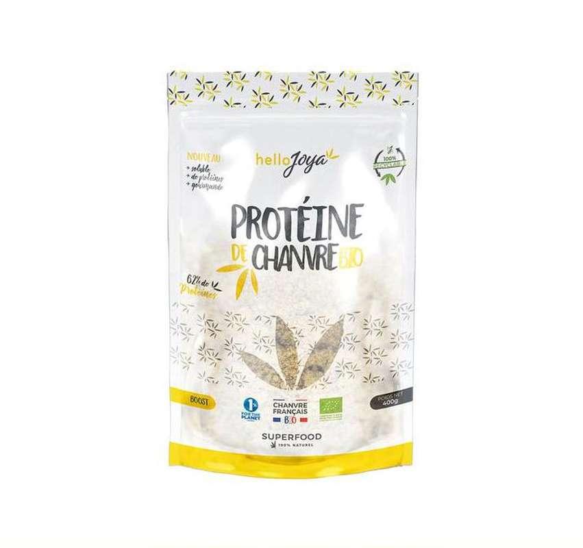 Protéine de chanvre BIO, Hello Joya (400 g)