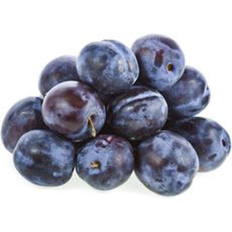 Pack de 900 g de prunes bleues Stanley, France