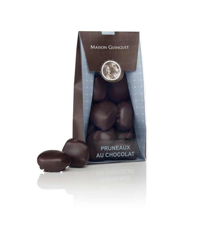 Pruneaux au chocolat noir, Maison Guinguet (200 g)