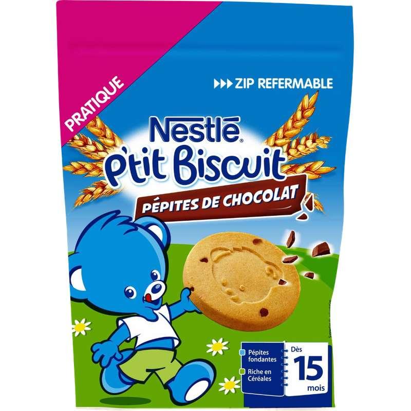 P'tit biscuit pépites chocolat - dès 15 mois, Nestlé (150 g)