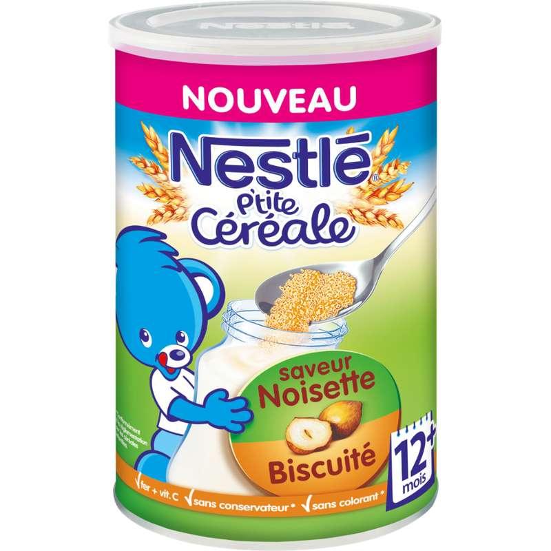 P'tite céréale noisette biscuitée  - 12 mois, Nestlé (400 g)