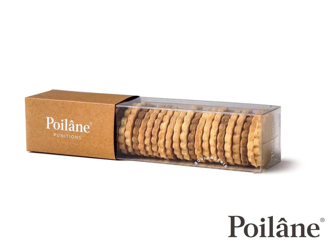 Punitions® en réglette, Poilâne (210 g)