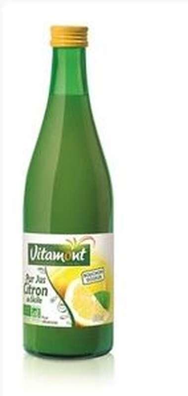 Pur jus de citron BIO, Vitamont (50 cl)