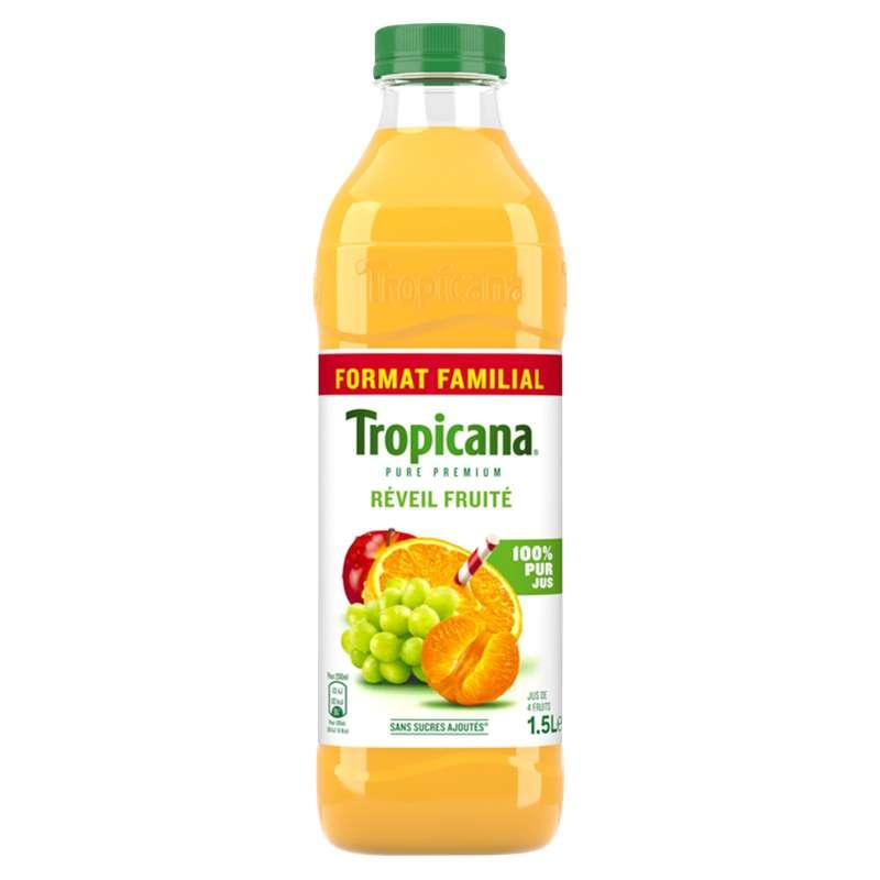 Jus réveil fruité, Tropicana (1,5 L)
