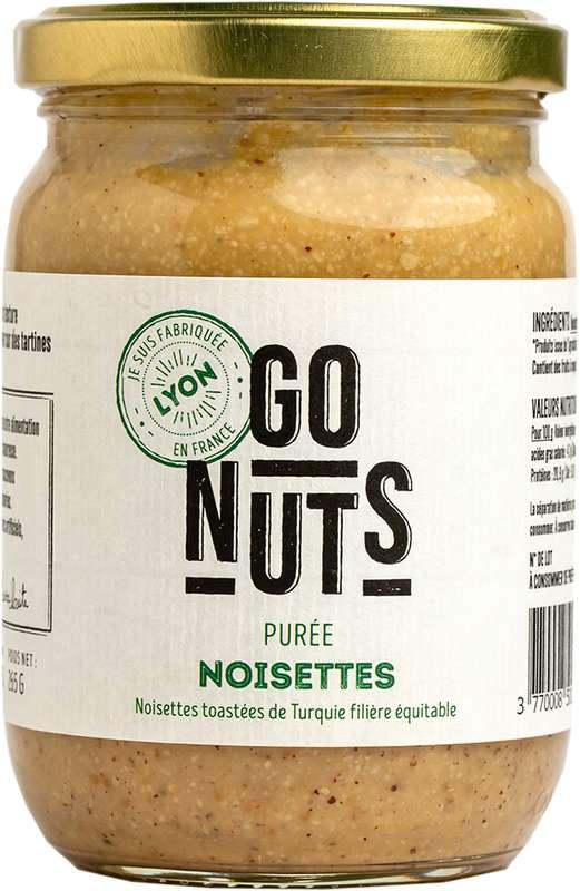 Purée de Noisettes grillés BIO, Go Nuts (265 g)