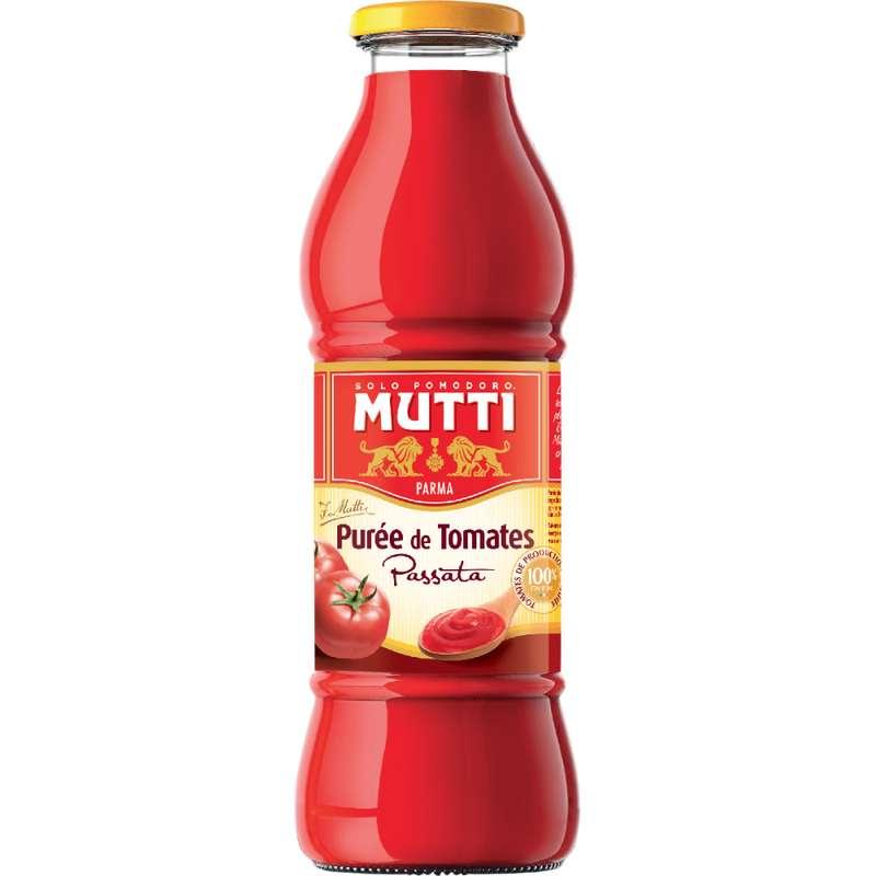 Purée de tomates nature, Mutti (700 g)