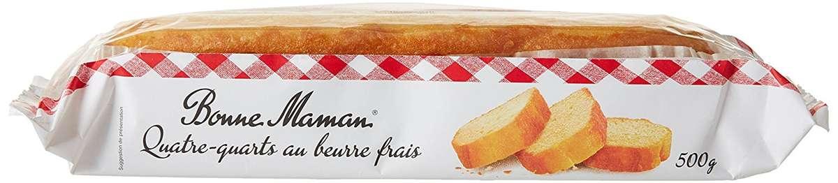 Quatre-quarts au beurre frais, Bonne Maman (500 g)