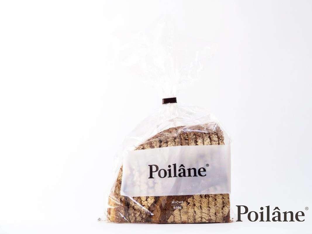 Quart de Miche tranché, Poilâne (450 g)