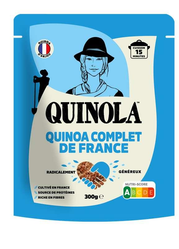 Quinoa blanc complet origine France, Quinola (300 g)