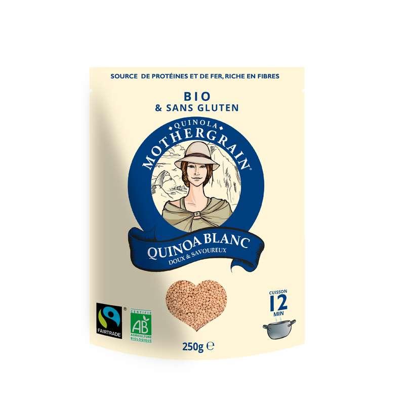 Quinoa blanc équitable BIO, Quinola (250 g)