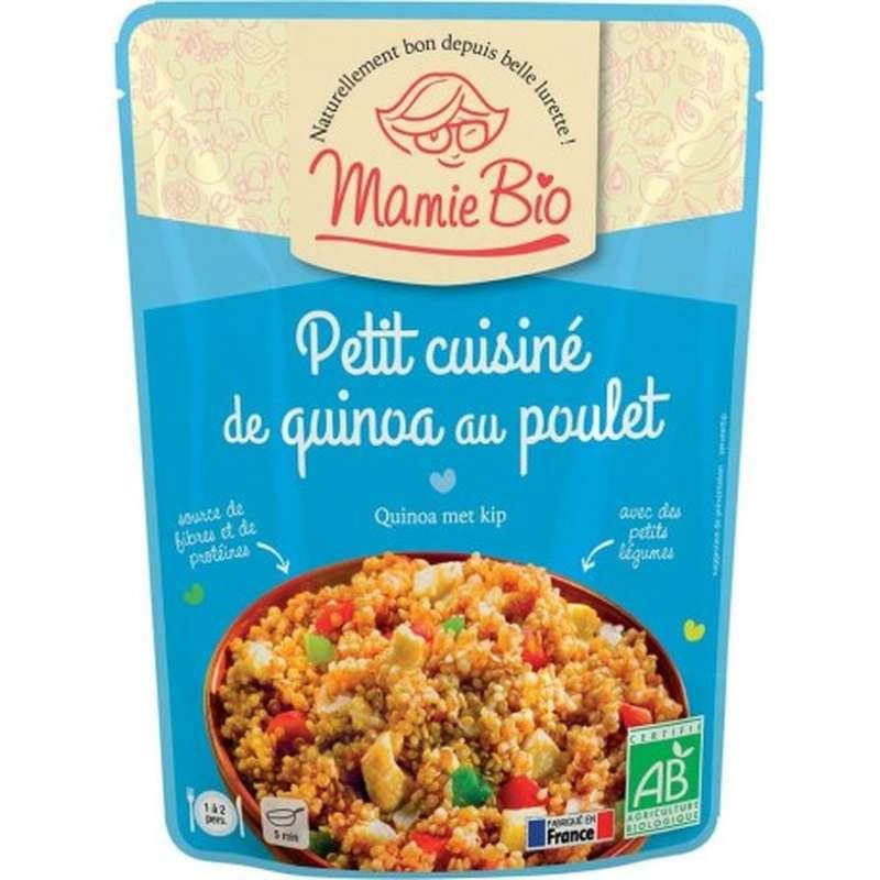 Petit cuisiné de quinoa au poulet BIO, Mamie BIO (250 g)