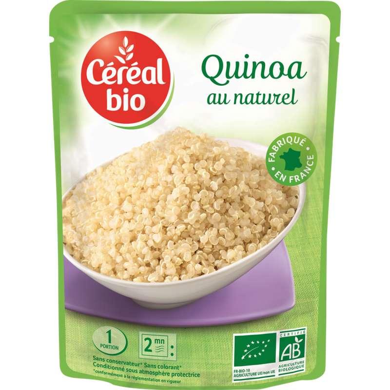Quinoa au naturel BIO, Céréal Bio (220 g)