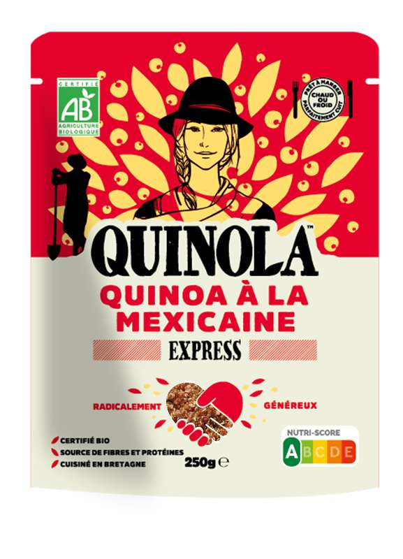 Quinoa express à la mexicaine BIO, Quinola (250 g)