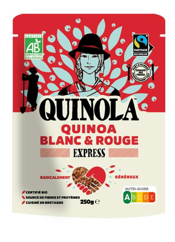 Quinoa express blanc et rouge équitable BIO, Quinola (250 g)