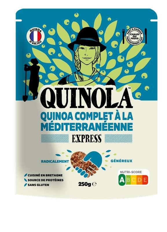 Quinoa express complet à la Méditerranéenne, Quinola (250 g)