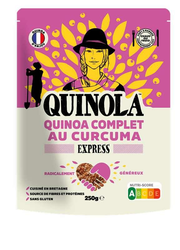 Quinoa express complet façon pilaf au curcuma, Quinola (250 g)