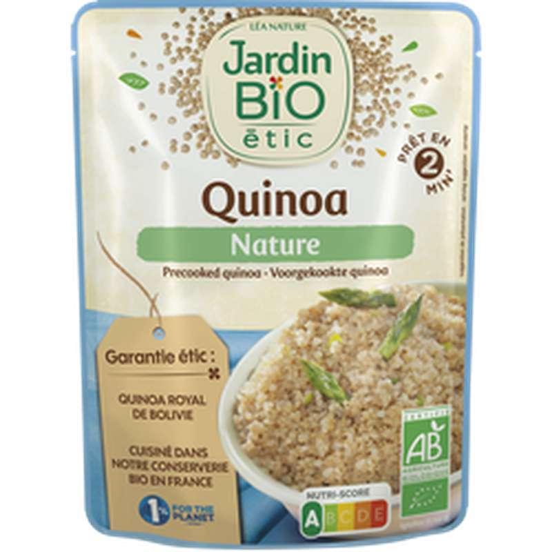 Quinoa nature précuit sans gluten BIO, Jardin Bio étic (220 g)