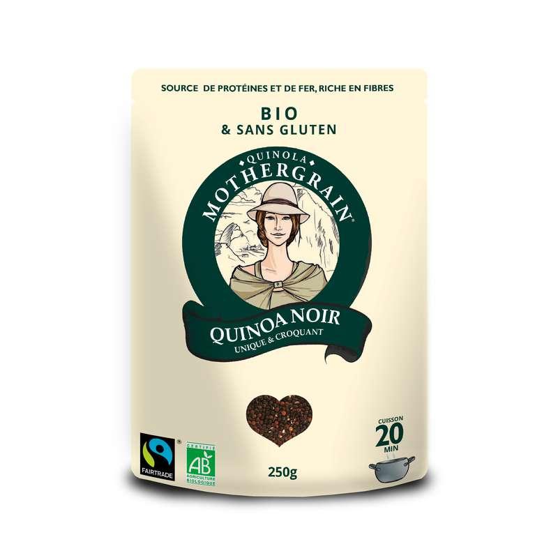 Quinoa noir équitable BIO, Quinola (250 g)