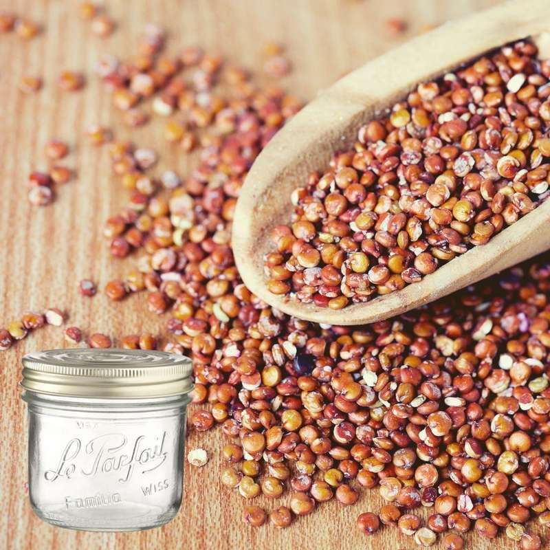 Quinoa rouge BIO bocal consigné / 2,5€ récupérable (560 g)