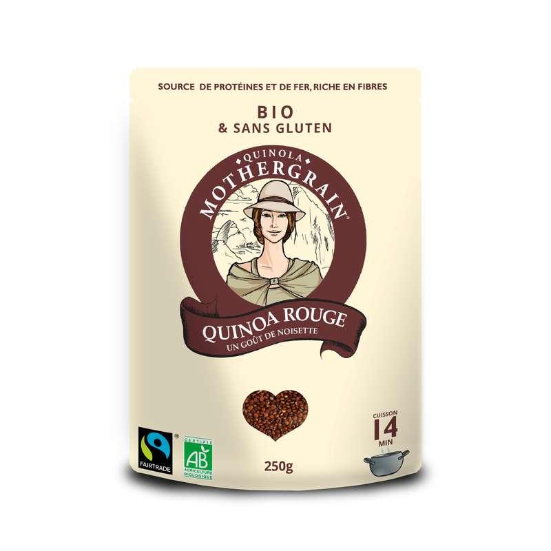 Quinoa rouge équitable BIO, Quinola (250 g)