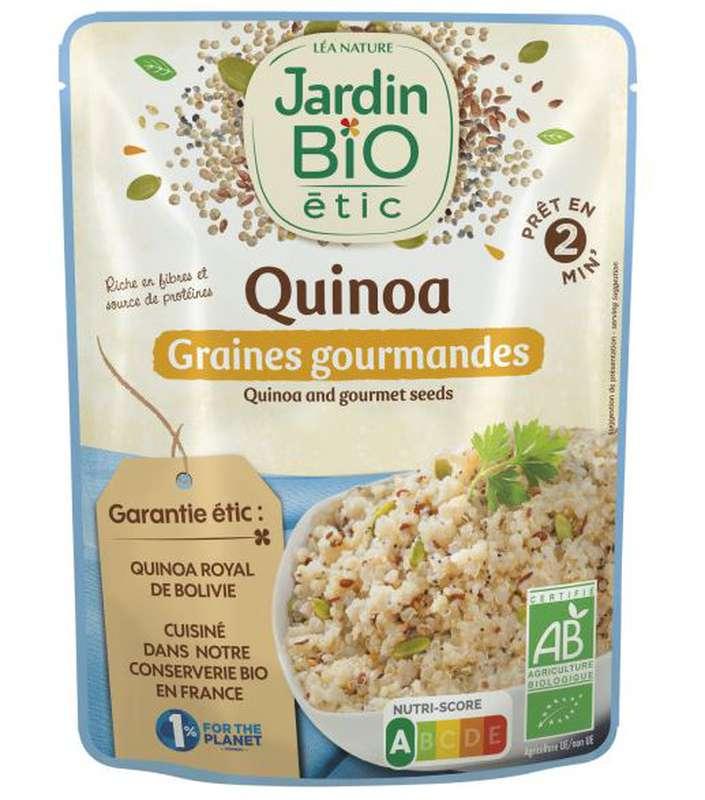 Quinoa graines gourmandes sans gluten BIO, Jardin Bio (220 g)