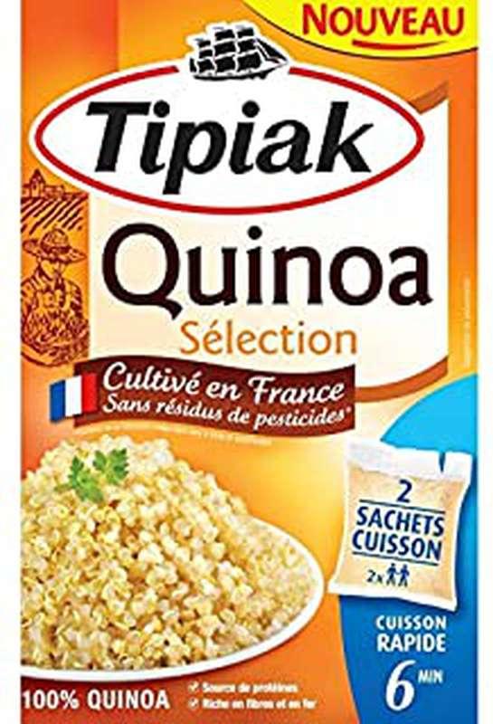 Quinoa Sélection sans pesticide, Tipiak (x 2 sachets, 200 g)