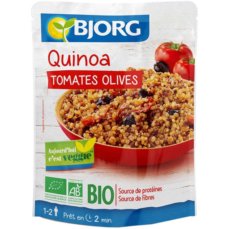 Quinoa, Tomate, Olives BIO, Bjorg (250 g)
