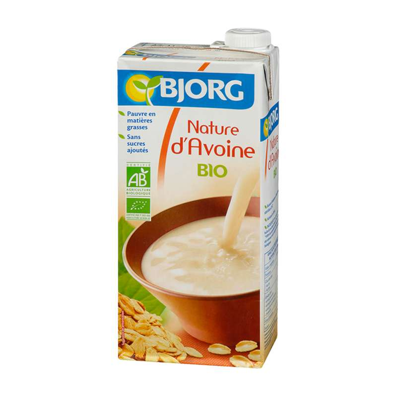 Pack de boisson nature d'avoine BIO, Bjorg (6 x 1 L)