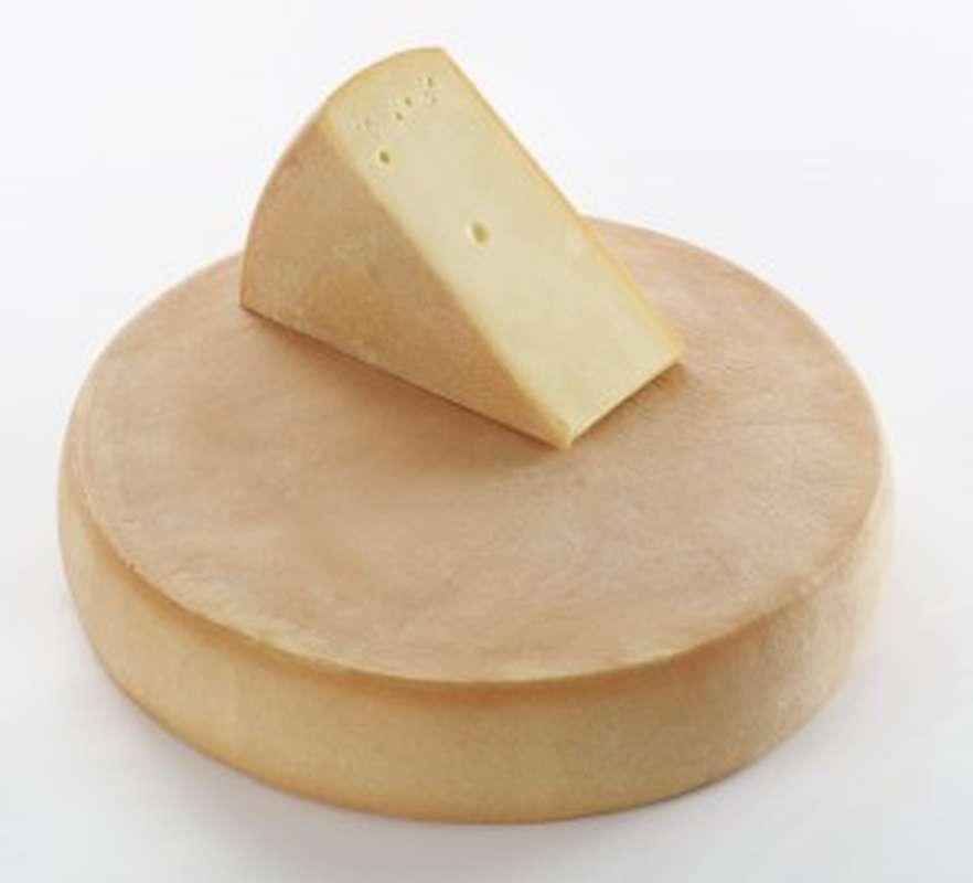 Fromage à raclette - meule au lait cru (7 kg) - 24h à l'avance