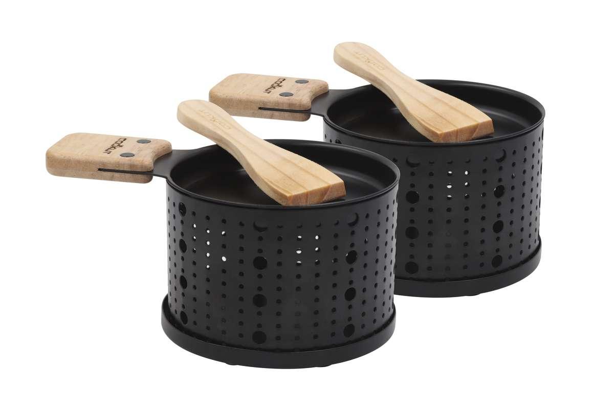 Raclettes individuelles à la bougie, Cookut (x 2)