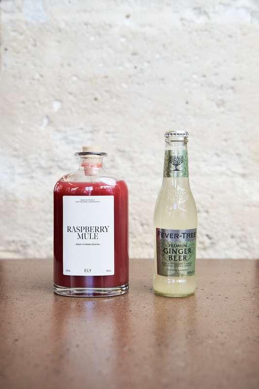 Raspberry Mule, Ely (50 cl)