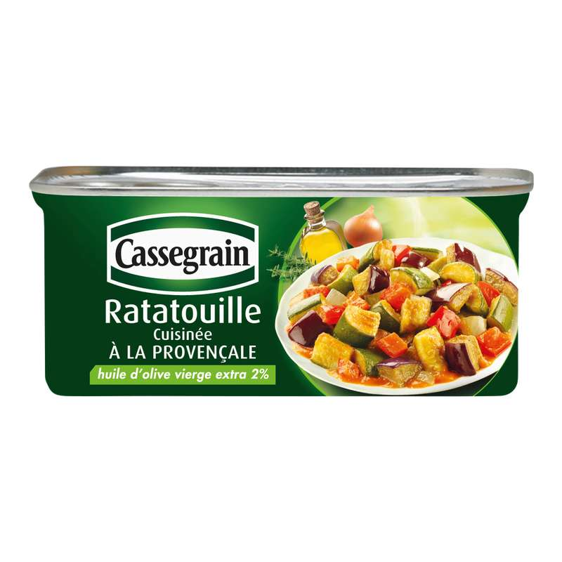 Ratatouille, Cassegrain (185 g)