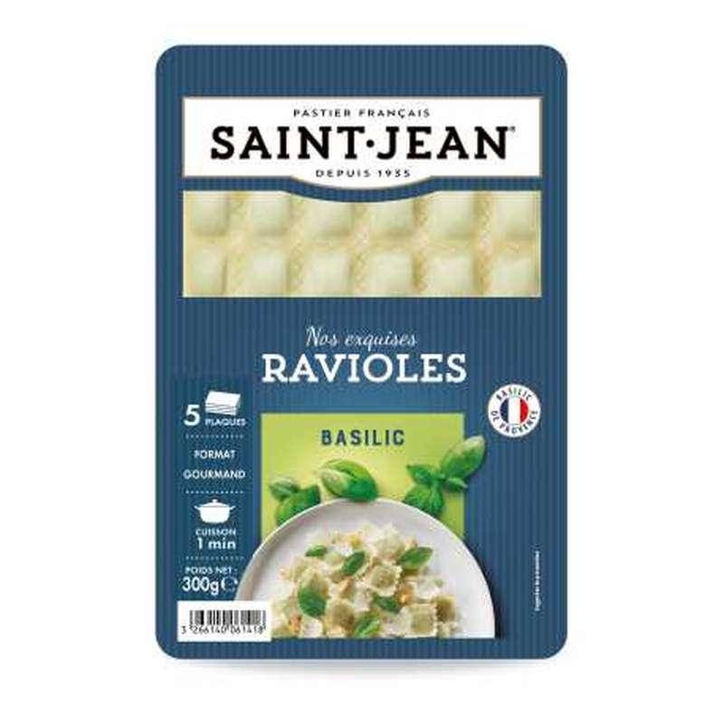 Ravioles au basilic, Saint Jean (300 g)