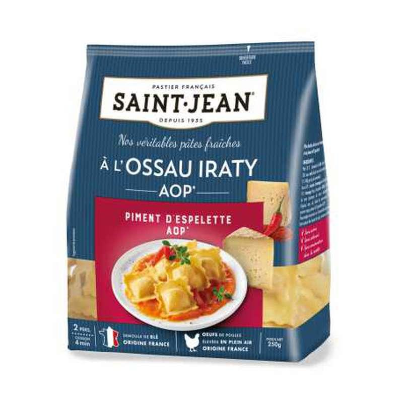 Ravioli à l'Ossau Iraty AOP et au piment d'Espelette AOP, Saint Jean (250 g)